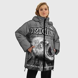 Куртка зимняя женская The Prodigy: Madness цвета 3D-черный — фото 2