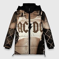 Куртка зимняя женская AC/DC Girl цвета 3D-черный — фото 1