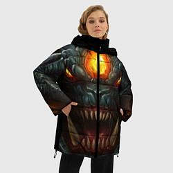 Куртка зимняя женская Roshan Rage цвета 3D-черный — фото 2