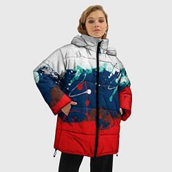 Куртка зимняя женская Триколор РФ - фото 2