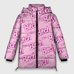 Куртка зимняя женская Bitch Pattern цвета 3D-черный — фото 1