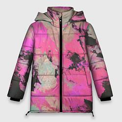 Куртка зимняя женская Краска - фото 1