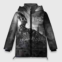 Куртка зимняя женская Black Veil Brides: Faithless цвета 3D-черный — фото 1