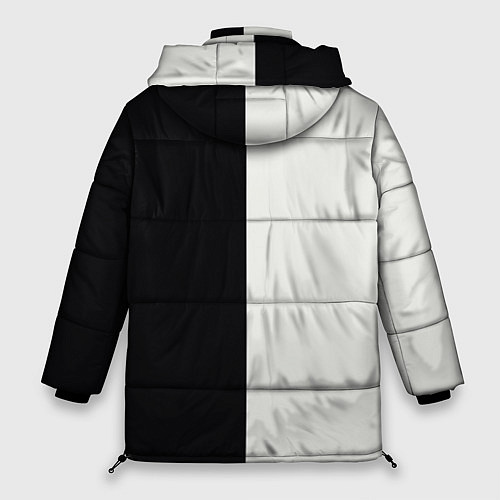 Женская зимняя куртка Eminem: Black & White / 3D-Черный – фото 2