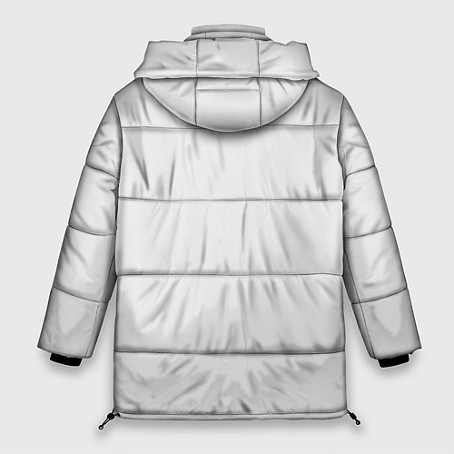 Женская зимняя куртка Кино: Виктор Цой / 3D-Черный – фото 2
