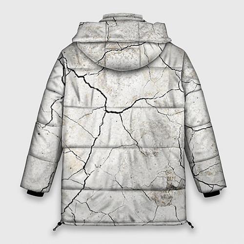 Женская зимняя куртка Train hard / 3D-Черный – фото 2