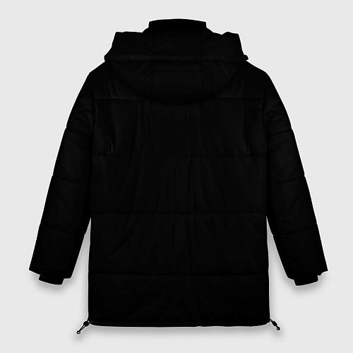 Женская зимняя куртка KISS: Death Faces / 3D-Черный – фото 2