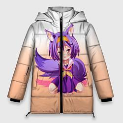 Куртка зимняя женская No Game No Life цвета 3D-черный — фото 1