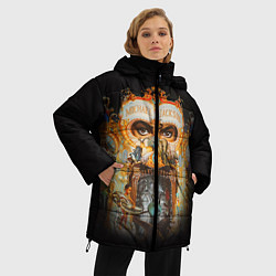 Куртка зимняя женская Michael Jackson Show цвета 3D-черный — фото 2