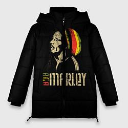Куртка зимняя женская Bob Marley цвета 3D-черный — фото 1