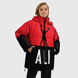 Куртка зимняя женская Ali Boxing - фото 2