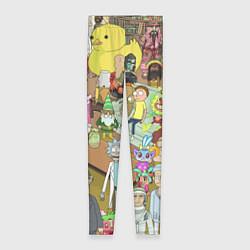 Леггинсы женские Rick & Morty: Stories цвета 3D-принт — фото 1