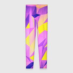 Леггинсы женские Texture цвета 3D — фото 1