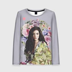 Лонгслив женский Lorde Floral цвета 3D — фото 1