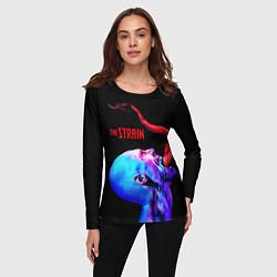 Лонгслив женский The Strain: Monster цвета 3D-принт — фото 2