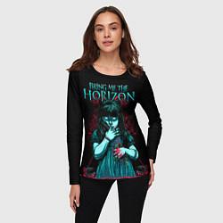 Лонгслив женский BMTH: Zombie Girl цвета 3D — фото 2