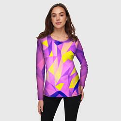 Лонгслив женский Texture цвета 3D — фото 2