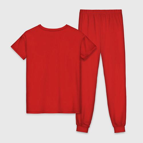 Женская пижама Подруги навеки / Красный – фото 2
