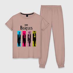Женская пижама Walking Beatles