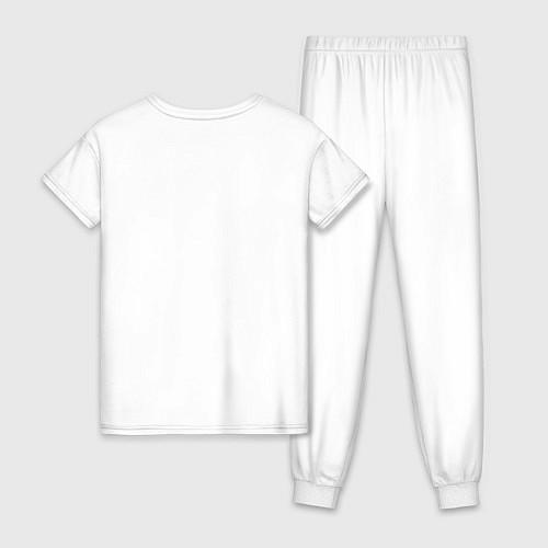 Женская пижама Join The Hunt / Белый – фото 2
