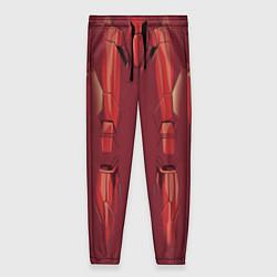 Брюки женские Iron Man Costume цвета 3D-принт — фото 1