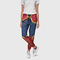Брюки женские Capitan Marvel Costume цвета 3D-принт — фото 2