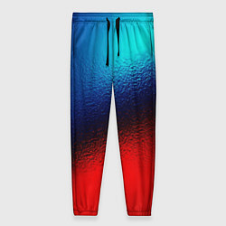 Женские брюки Синий и красный