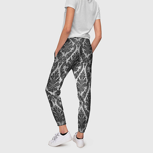 Женские брюки Гламурный узор / 3D – фото 2