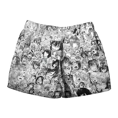 Женские шорты AHEGAO / 3D-принт – фото 2