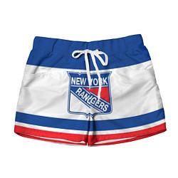 Шорты женские New York Rangers цвета 3D — фото 1