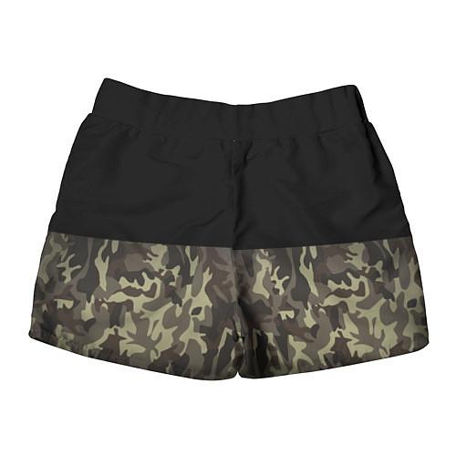 Женские шорты FCK U: Camo / 3D – фото 2