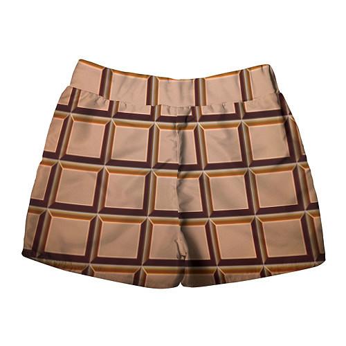 Женские шорты Шоколад / 3D – фото 2
