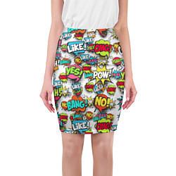 Юбка-карандаш Pop art Fashion