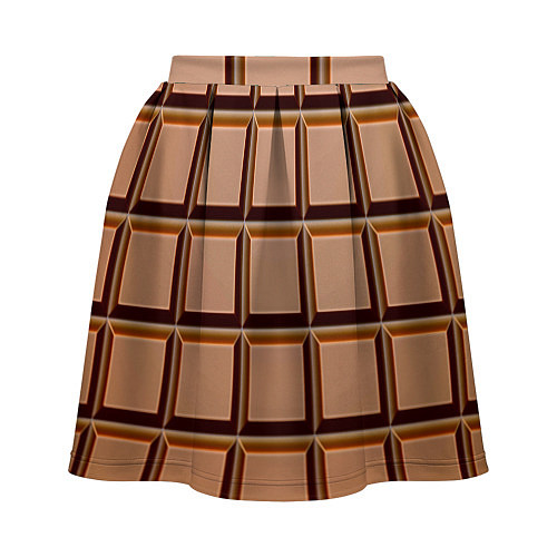 Женская юбка Шоколад / 3D – фото 2