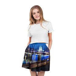 Юбка-солнце 3D женская Москва цвета 3D — фото 2