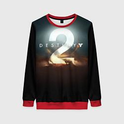 Свитшот женский Destiny 2 цвета 3D-красный — фото 1