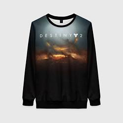 Свитшот женский Destiny 2 цвета 3D-черный — фото 1