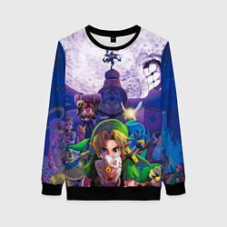 Свитшот женский The Legend of Zelda цвета 3D-черный — фото 1