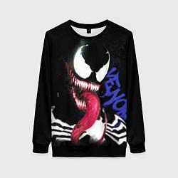 Свитшот женский Venom цвета 3D-черный — фото 1