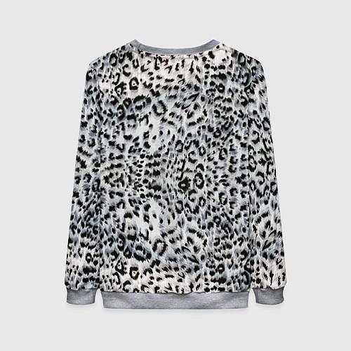 Женский свитшот White Jaguar / 3D-Меланж – фото 2