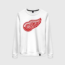 Свитшот хлопковый женский Detroit Red Wings: Pavel Datsyuk цвета белый — фото 1