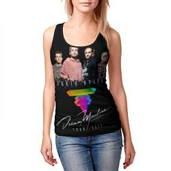 Майка-безрукавка женская Tokio Hotel: Dream Band цвета 3D-черный — фото 2