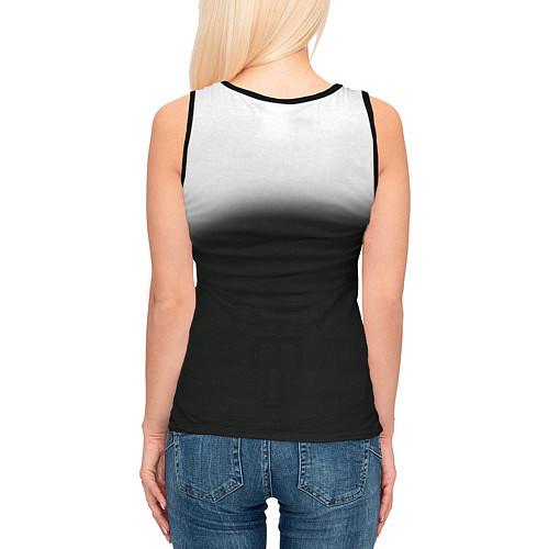 Женская майка без рукавов Пикник / 3D-Черный – фото 4