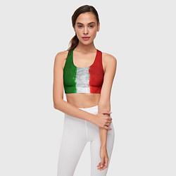 Топик спортивный женский Italian цвета 3D — фото 2