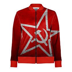 Женская олимпийка Флаг СССР: Серп и Молот