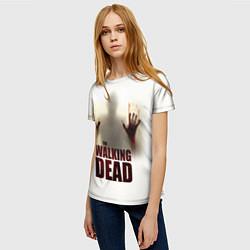 Футболка женская Walking Dead Shadow цвета 3D — фото 2
