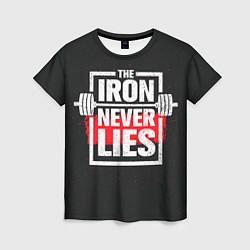 Футболка женская The iron never lies цвета 3D — фото 1