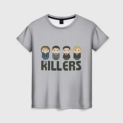 Футболка женская The Killers Boys цвета 3D-принт — фото 1