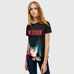 Футболка женская The Strain: Madness цвета 3D-принт — фото 2