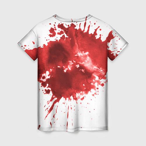 Женская футболка Play a game? / 3D – фото 2